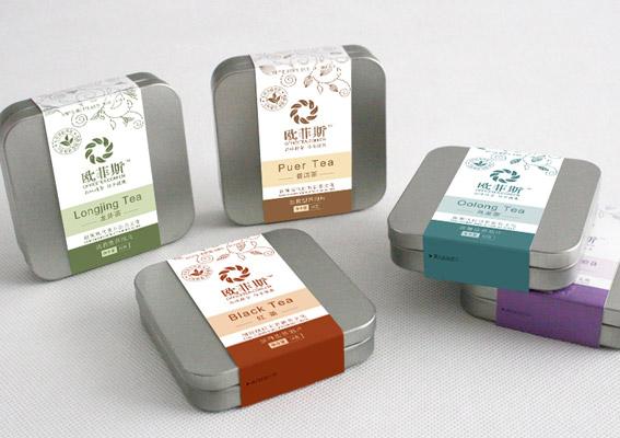 时尚茶叶包装盒设计